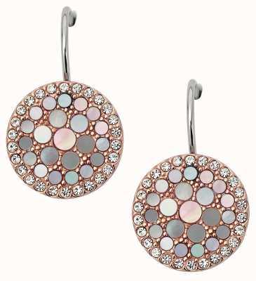 Fossil Womens Vintage Glitz Stainless Steel Jewellery JF01737791