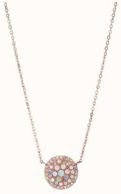 Fossil Womens Vintage Glitz Stainless Steel Jewellery JF01740791