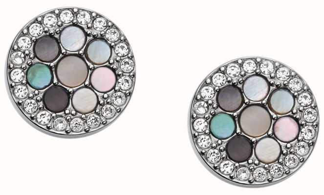 Fossil Womens Vintage Glitz Stainless Steel Jewellery JF02310040