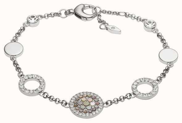 Fossil Womens Vintage Glitz Stainless Steel Jewellery JF02311040