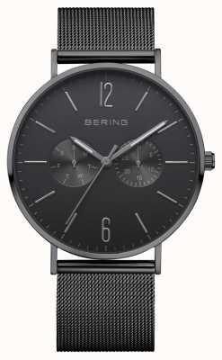 Bering Classic Date Date Display Black Dial 14240-222