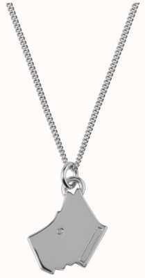 Radley Jewellery Love Radley Silver Radley Dog Head Necklace RYJ2015