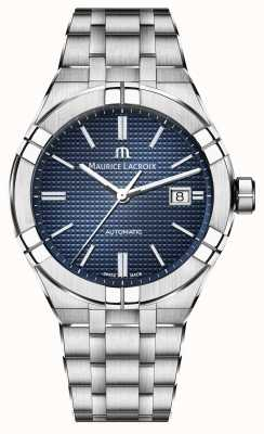 Maurice Lacroix Aikon Automatic Stainless Steel Blue Dial Watch AI6008-SS002-430-1