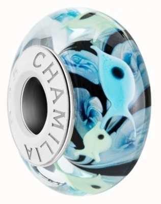 Chamilia School Of Fish Charm Murano Glass 2110-1299