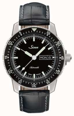 Sinn 104 St Sa I Classic Pilot Watch Alligator Embossed Leather 104.010-BL44201851001225301A