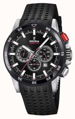 Festina 2018 Chronobike Watch Rubber Strap F20353/4