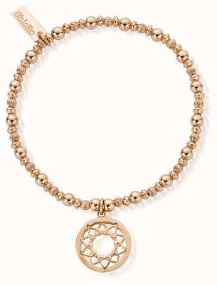 ChloBo Gold Heart Mandala Bracelet RBPUMP461