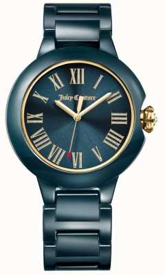 Juicy Couture Womens Black Burbank Ceramic Watch 1901653