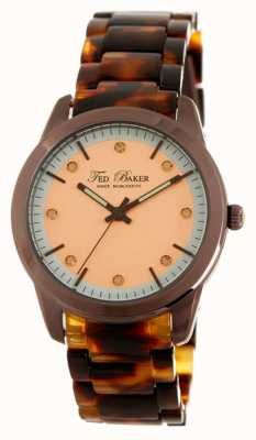 Ted Baker Womens Dark Havana Polycarbonate Bracelet TE10009305