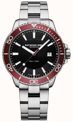 Raymond Weil Mens Tango 300 Diver Stainless Steel Bracelet 8260-ST4-20001