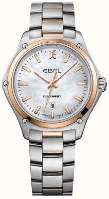 EBEL Women's Discovery Mother Of Pearl Two Tone Rose Gold 1216396