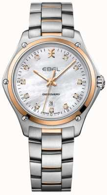 EBEL Women's Diamond Discovery Mother Of Pearl Stainless Steel 1216397