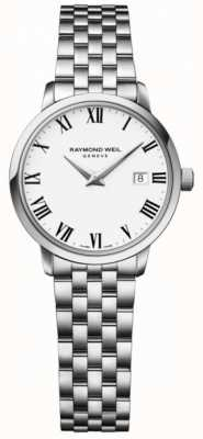 Raymond Weil Womens Toccata Stainless Steel Bracelet White Dial 5988-ST-00300