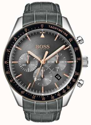 Hugo Boss Men's Trophy Grey Dial 1513628