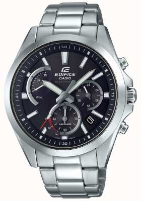 Casio Edifice Sapphire Solar Retrograde Chonograph Stainless Steel EFS-S530D-1AVUEF