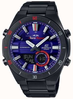 Casio Edifice Toro Rosso Black IP Plated Day Date ERA-110TR-2AER