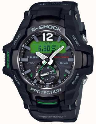 Casio G-Shock Gravitymaster Bluetooth Solar Black/Green Rubber GR-B100-1A3ER