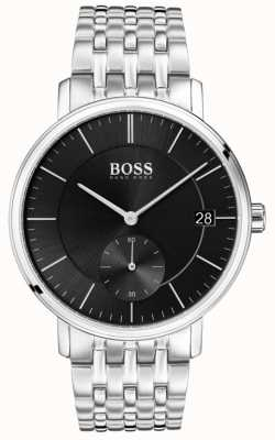 Hugo Boss Men's Corporal Stainless Steel Black Dial 1513641