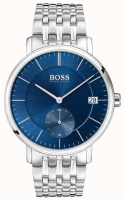 Hugo Boss Men's Corporal Stainless Steel Blue Dial 1513642