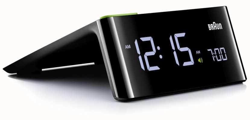 Braun Digital Bedside Alarm Clock BNC016BKUK