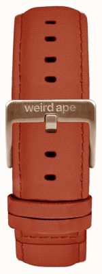 Weird Ape Rust Suede 20mm Strap Rose Gold Buckle ST01-000094