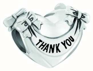 Chamilia 'Thank You' Heart Charm 2010-3608