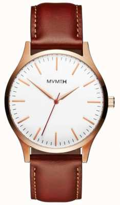 MVMT Mens 40 Series Natural Tan MT01-WBR