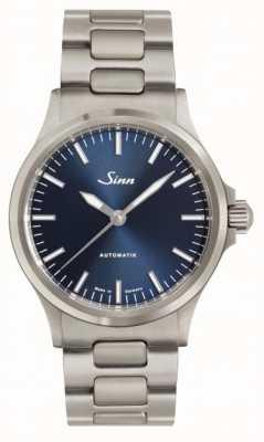 Sinn 556 I B Blue Dial Metal Bracelet 556.0104 LINK BRACELET