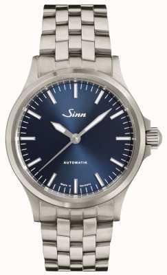 Sinn 556 I B Blue Dial Fine Link Bracelet 556.0104 FINE BRACELET