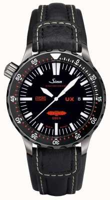Sinn UX EZM 2B Leather 403.051 COWHIDE WHITE STITCH