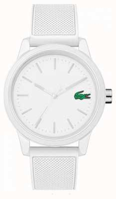 Lacoste White Rubber 12.12 Watch 2010984 2010984