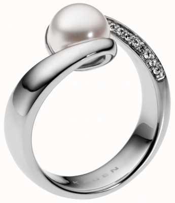 Skagen Ladies Stainless Steel Sea Glass Ring Medium SKJ0091040505