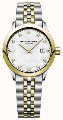 Raymond Weil Women's Two Tone Freelancer Watch 5629-STP-97081