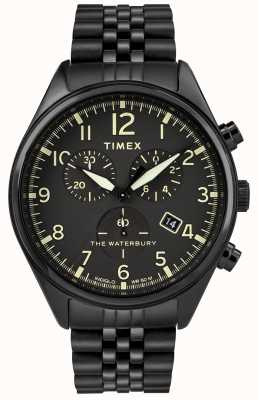 Timex Waterbury Traditional Chronograph Black Watch TW2R88600D7PF