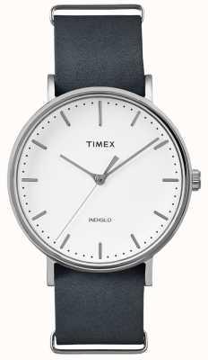 Timex Fairfield Black Strap 3 Hand Watch TWF3C8140UK