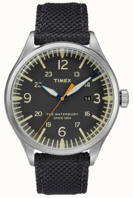 Timex Waterbury Traditional Black Contactless Strap TWF3C8270UK