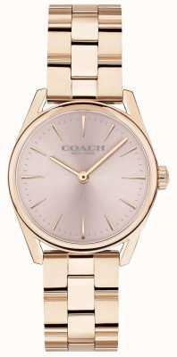 Coach Womens Modern Luxury Rose Gold Tone Bracelet 14503206