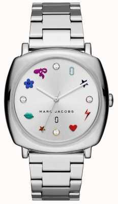 Marc Jacobs Womens Mandy Watch Silver Tone MJ3548