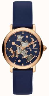 Marc Jacobs Womens Marc Jacobs Classic Watch Navy Leather MJ1628