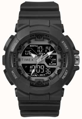 Timex Mens 50mm Black Case Black Strap TW5M22500