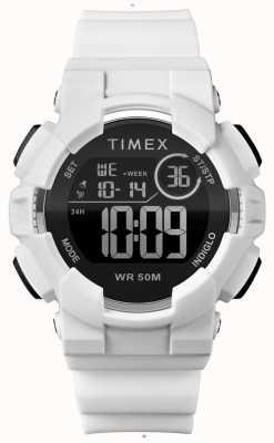 Timex Womens 44mm White Case White Strap TW5M23700