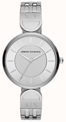 Armani Exchange Ladies Dress Watch Stainless Steal AX5327