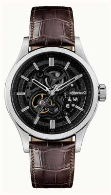 Ingersoll The Armstrong Automatic Brown Leather Strap I06801