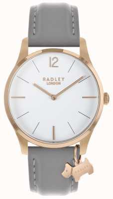 Radley Ladies Watch Rose Gold Case Ash Strap RY2712