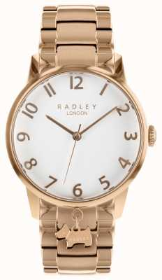 Radley Ladies Rose Gold Stainless Steel Watch RY4362