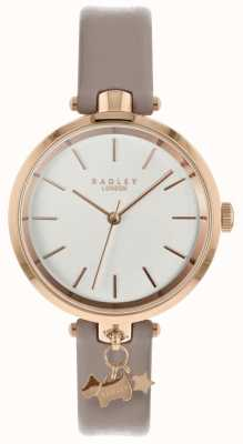 Radley Ladies Watch Cobweb Leather Strap Rose Gold Case RY2728