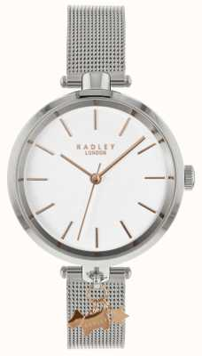 Radley Ladies Silver Mesh Watch RY4363