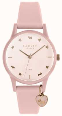 Radley Ladies Watch Pink Silicone Strap RY2730