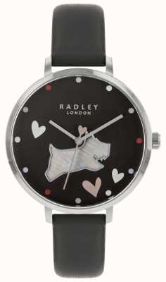 Radley Ladies Watch Black Dog Ink Strap RY2679