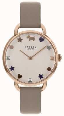Radley Ladies Watch Rose Gold Open Shoulder Strap RY2698